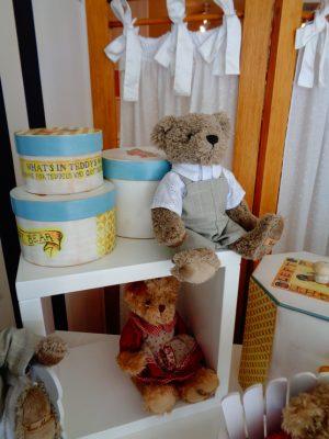 Caixas Ted + ursos